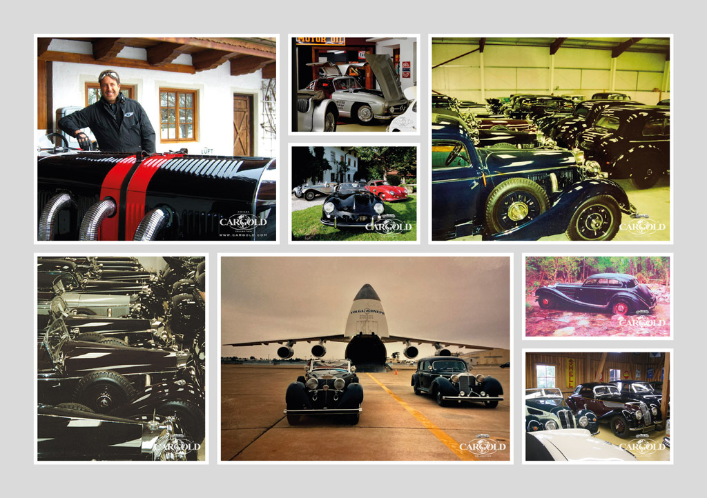 OOldtimer kaufen by Cargold Collection - Classic Sportscars - Prewar cars - Supercars